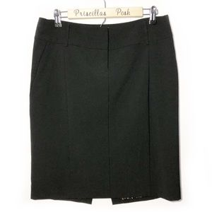Express Black Classic Pencil Skirt SZ 8